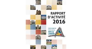 Rapport d'activité CCPL 2016
