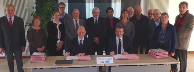 Signature Contrat territoire CCPL