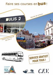 Faire ses courses en bus