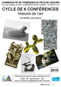Conférences Histoire de l'Art CCPL 2018